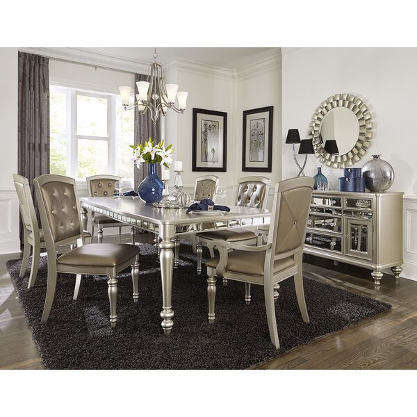 Lusher 7 Piece Extendable Dining Set by Rosdorf Park