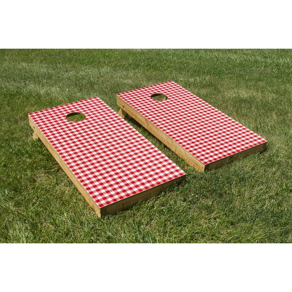 Picnic Table Cornhole Board (Set of 2) by The Cornhole Crew