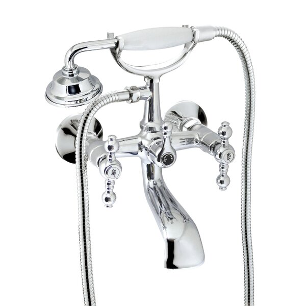 Isai Tub And Shower Mixer With Lever Handle By Charlton Home