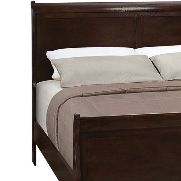 Chelwood Sleigh Bed Charlton Home W002783941