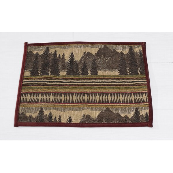 Zenfield Placemat (Set of 4) by Loon Peak