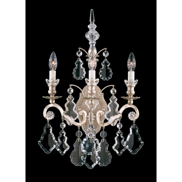 Versailles 3-Light Candle Wall Light by Schonbek