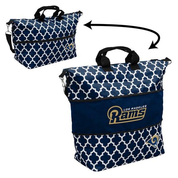 Quatrefoil Expandable Picnic Tote Bag by Logo Brands