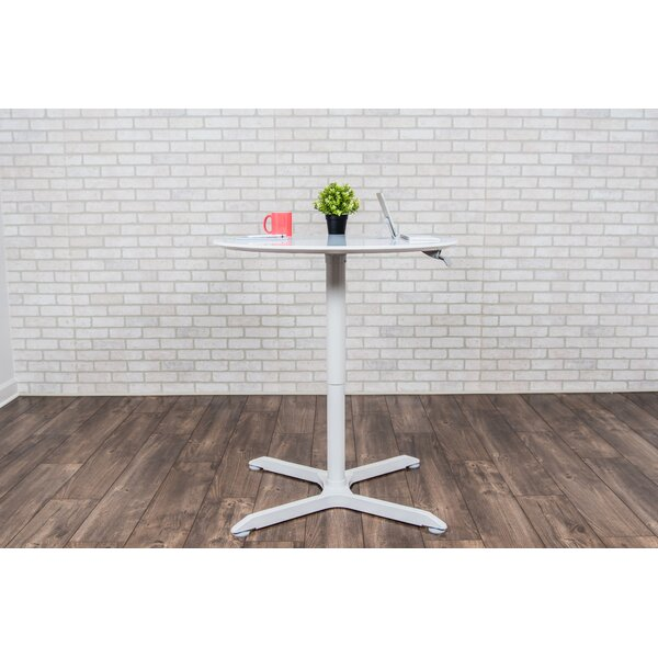 Round Adjustable Height Cafe Table by Luxor