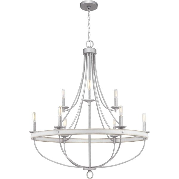 Kingsley 9 - Light Candle Style Empire Chandelier by Three Posts Three Posts
