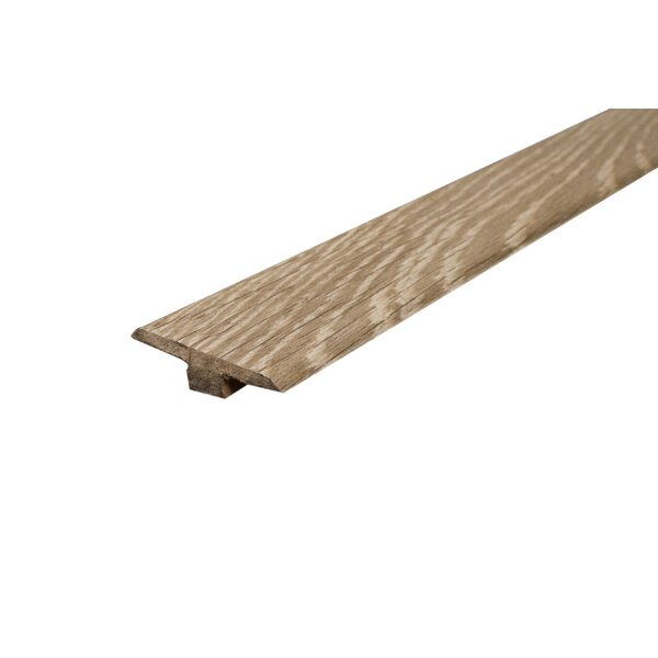 0.44 x 1.75 x 93.38 Oak T-Molding in Chestnut by Concept One Accessories