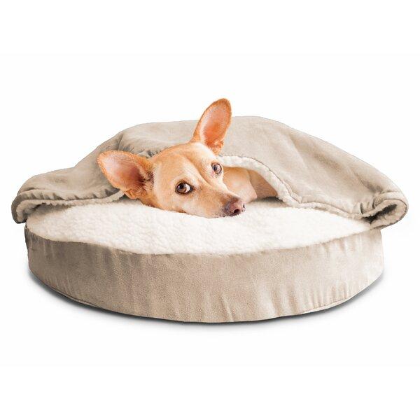 Fern Snuggery Hooded Dog Bed by Archie & Oscar