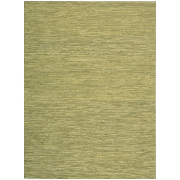 Denieron Hand-Woven Wasabi Area Rug by 17 Stories