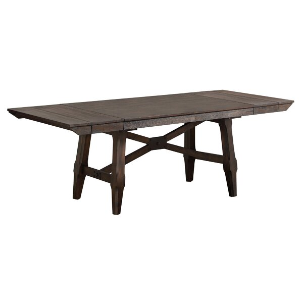 New Haven Extendable Solid Wood Dining Table by Gracie Oaks