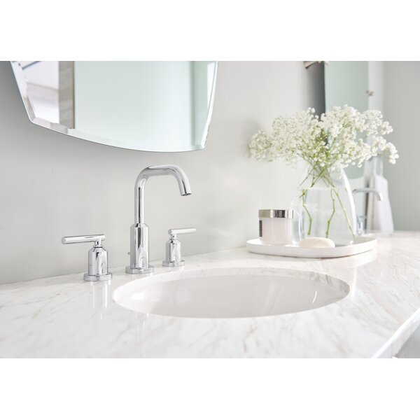 Gibson Standard Widespread Bathroom Faucet by Moen