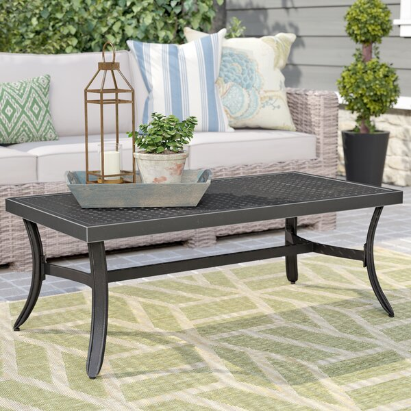 Dominque Metal Coffee Table By Darby Home Co by Darby Home Co Best