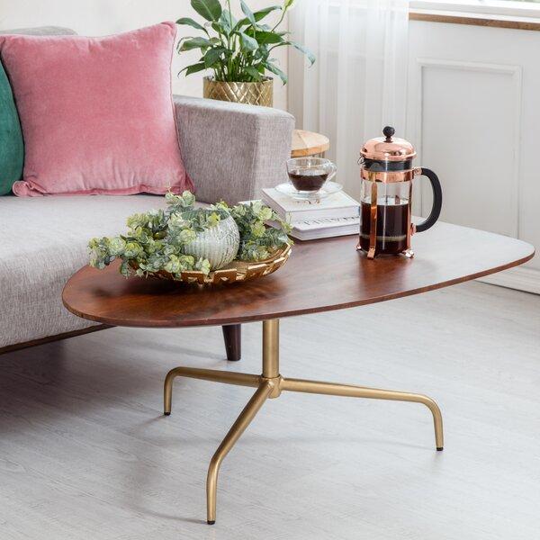 Kenosha 3 Legs Coffee Table By George Oliver