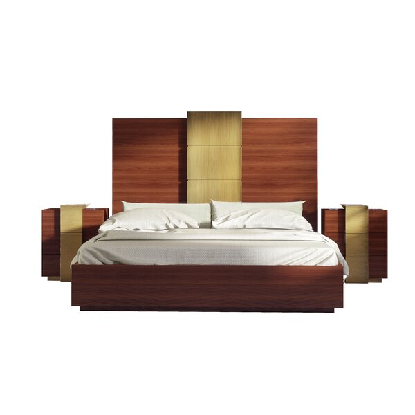 Rone Platform 3 Piece Bedroom Set by Brayden Studio