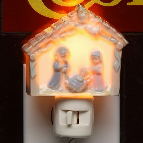 Holy Family Plug-In Night Light by Cosmos Gifts