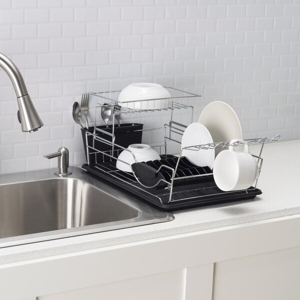 2 Tier Dish Rack by Home Basics