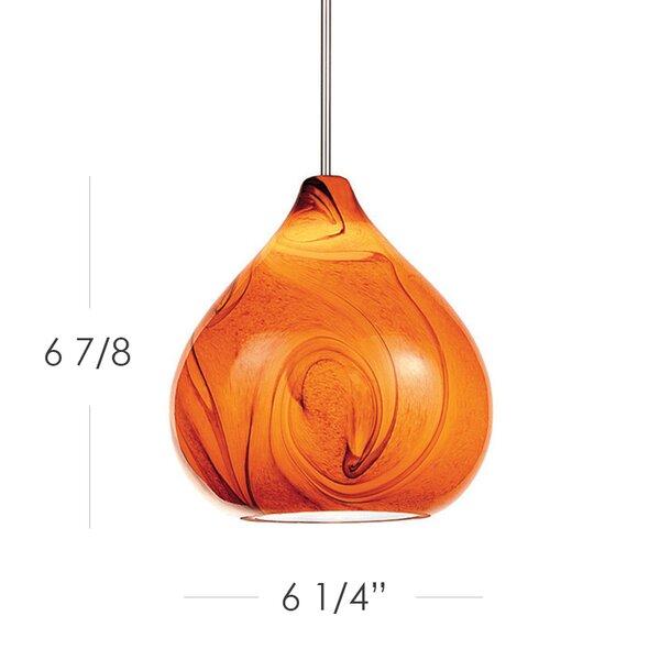 Truffle 1-Light Teardrop Pendant by WAC Lighting