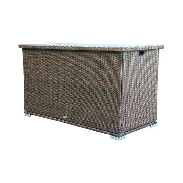 Seattle 296 Gallon Wicker Deck Box by Moda Furnishings Moda Furnishings