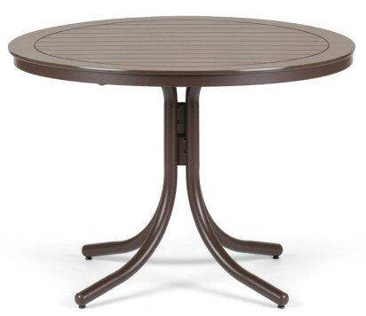 Marine Grade Polymer  Round Dining Table by Telescope Casual