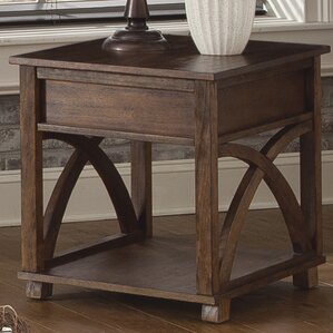 Beachcrest Home Doretta End Table
