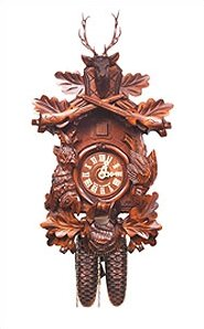 Mechanical Cuckoo Clock by Black Forest