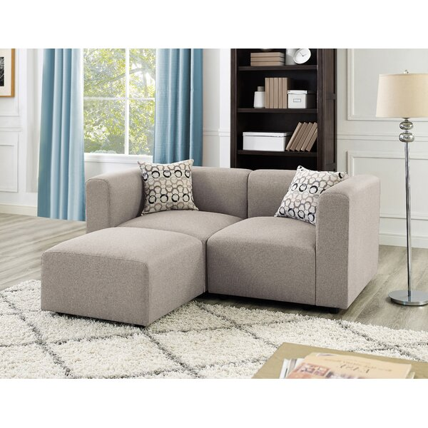 Price Compare Karol Reversible Modular Sectional by Ivy Bronx by Ivy Bronx