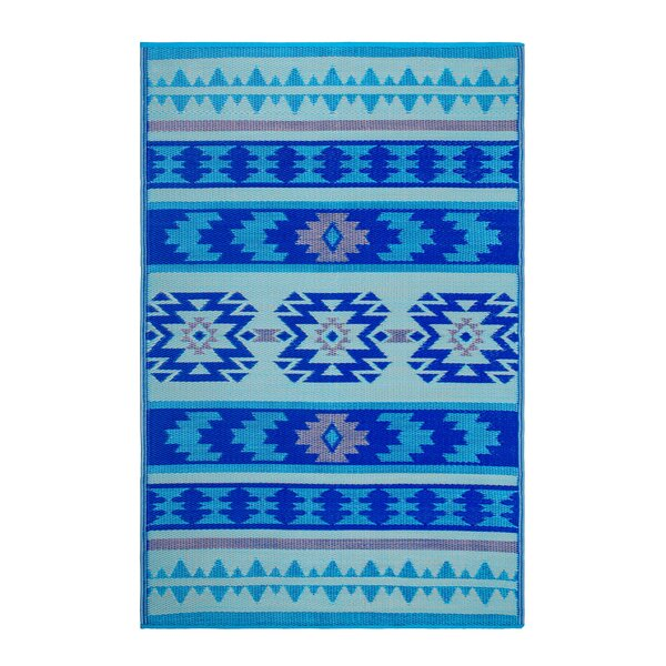 Conner Blue Indoor/Outdoor Area Rug by Union Rustic