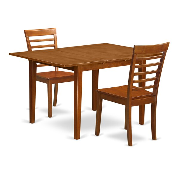 Lorelai 3 Piece Dining Set By Alcott Hill 2019 Sale