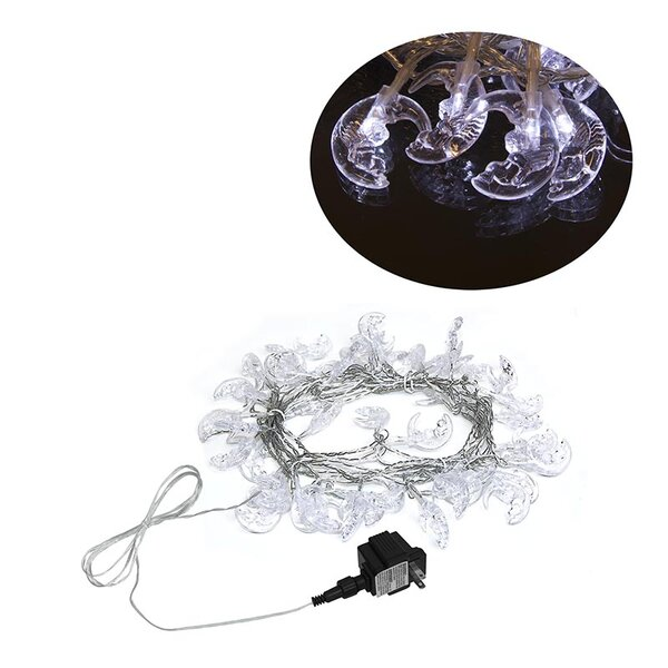 Christmas Moon 50 Light String Lights (Set of 2) by The Holiday Aisle