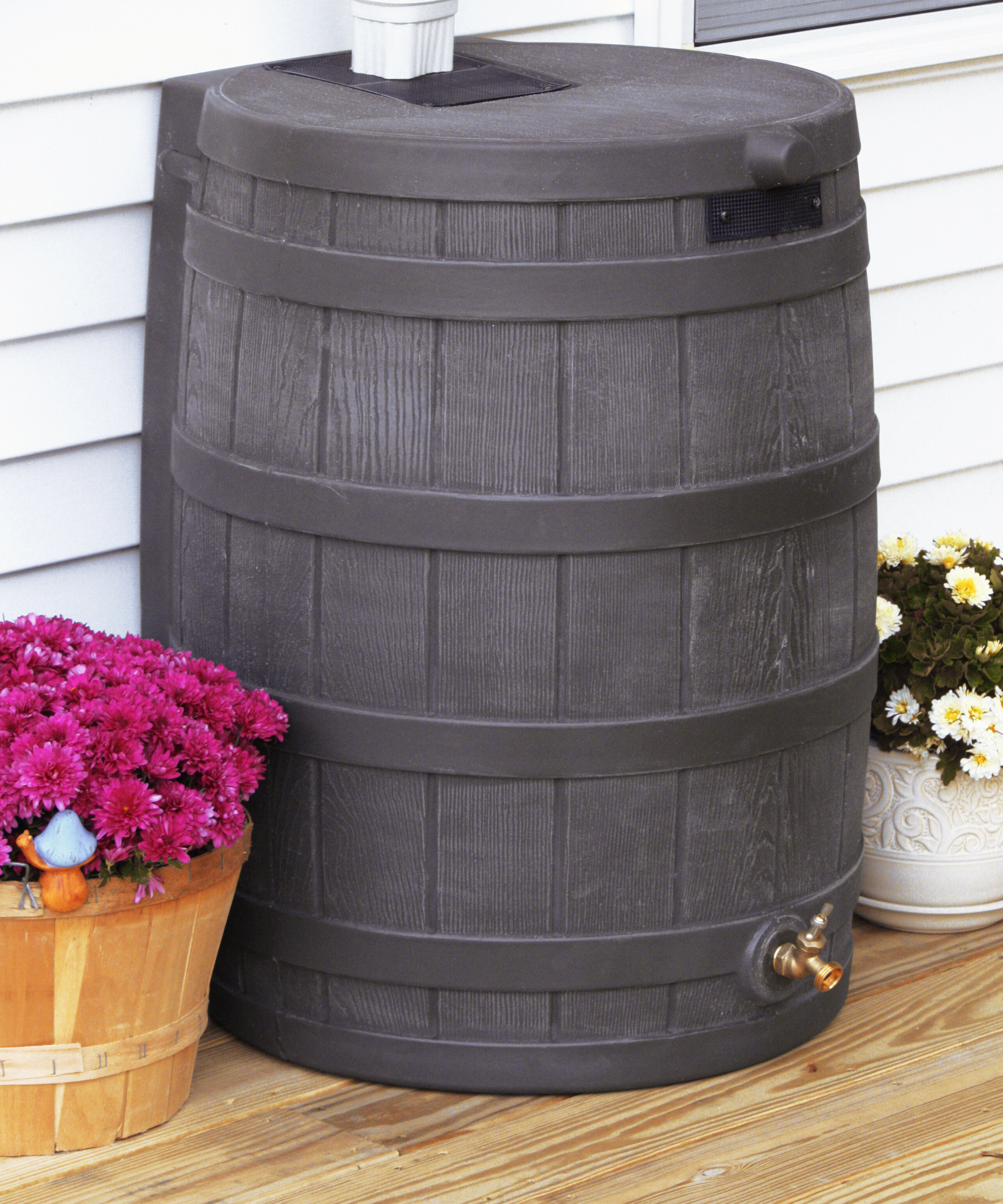 Good Ideas Rain Wizard 40 Gallon Rain Barrel & Reviews | Wayfair.ca