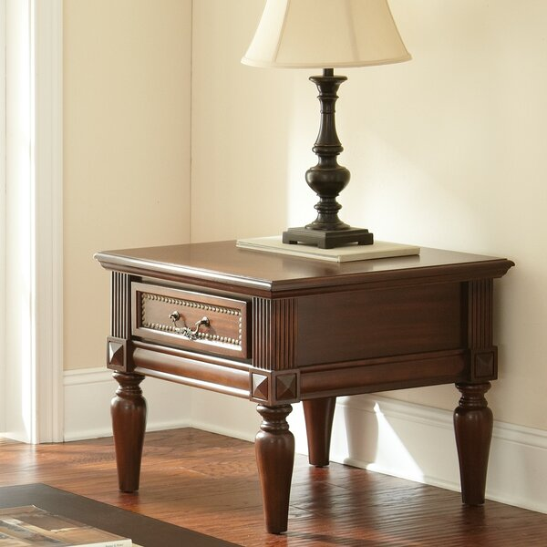 Lilia End Table by Beachcrest Home