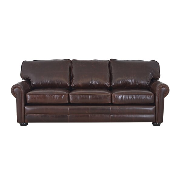 Fenway Studio Leather Sofa by Westland and Birch