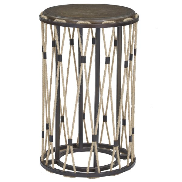 Alaya End Table by Breakwater Bay