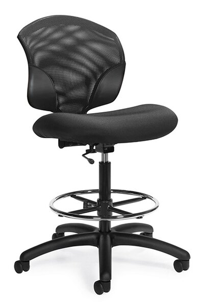 Tye Mesh Drafting Chair by Global Total Office