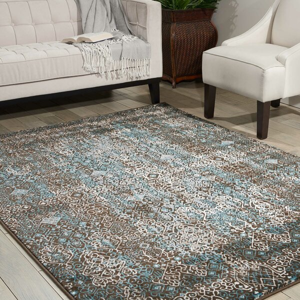 Garst Blue Area Rug by Bloomsbury Market