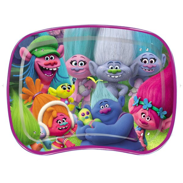 Trolls Kids Snack and Play Tray by Commonwealth