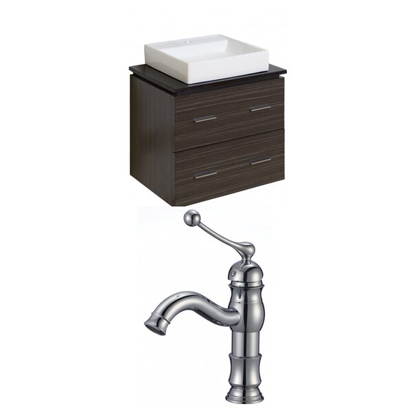 Xena Quartz 24 Single Bathroom Vanity Set by American Imaginations