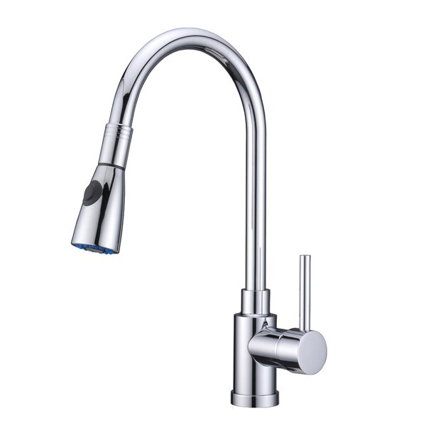 Single Handle Pull Standard Kitchen Faucet by Alpha International