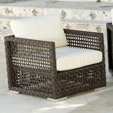 Marianna Lounge Patio Chair with Cushions by Bay Isle Home