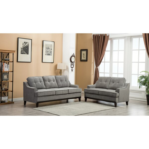 Maxie 2 Piece Living Room Set by Winston Porter