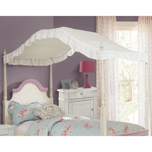 Kilraghts Provincial Inspired Eyelet Bed Canopy by Harriet Bee