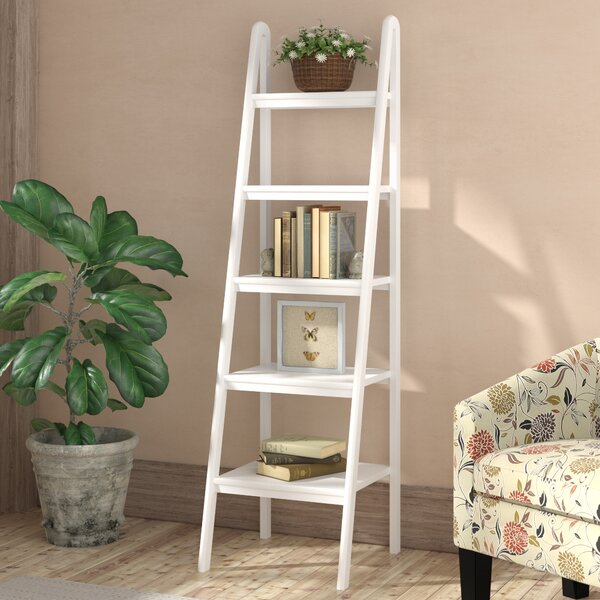 Mission Grove Ladder Bookcase By Ebern Designs