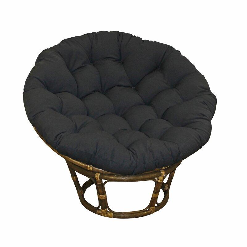 Pampasan Chair andover mills angustain papasan chair & reviews | wayfair