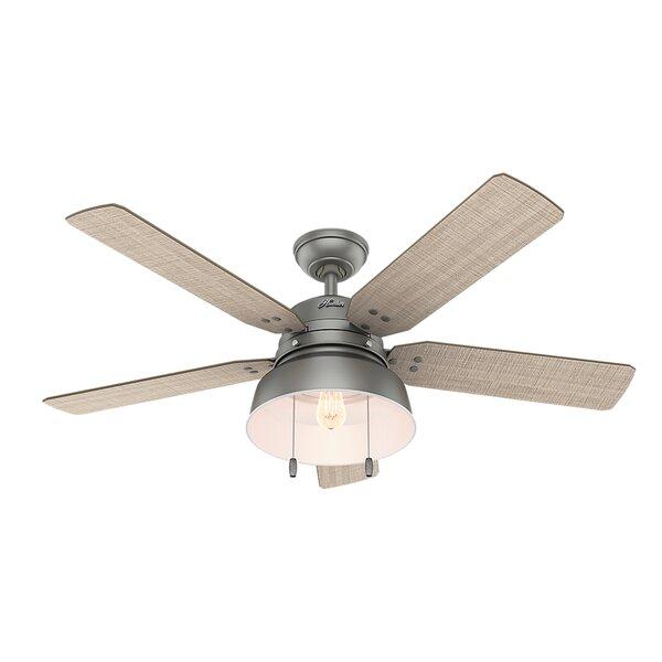 52 Mill Valley 5 Blade Outdoor Ceiling Fan by Hunter Fan