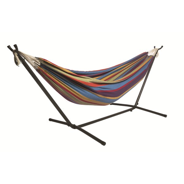 Rithland Double Camping Hammock with Stand by Freeport Park