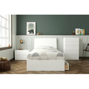 Dunleith Twin Platform 4 Piece Bedroom Set By Mack & Milo