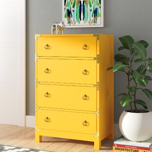 Cruse Campaign 4 Drawers Accent Chest by Brayden Studio