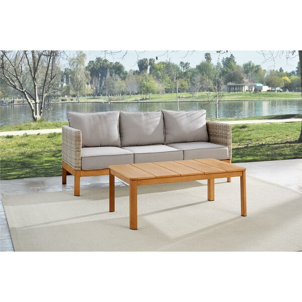 Nanette 2 Piece Sofa Seating Group with Cushions by Greyleigh