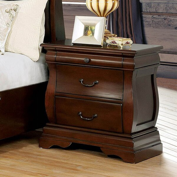 Quinlan 2 Drawer Nightstand by Astoria Grand