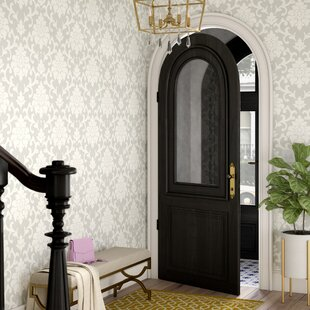 Ord 16 5 L X 20 W Damask And Stick Wallpaper Roll