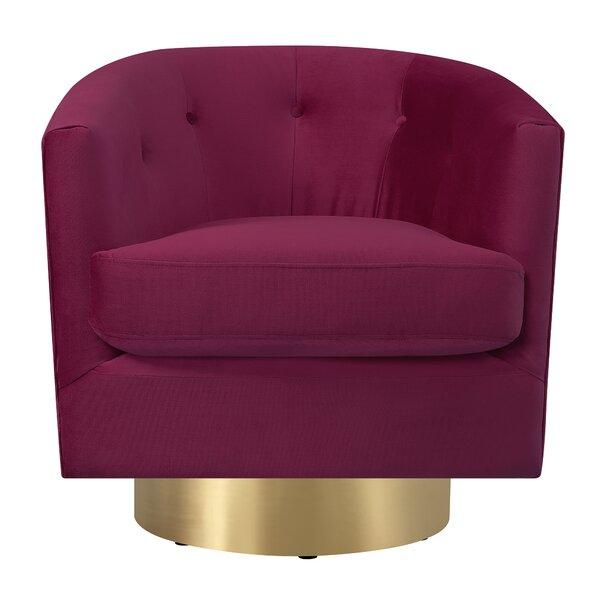 Huang Swivel Barrel Chair by Mercer41